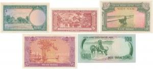 Vietnam - set of 5 banknotes