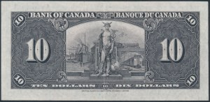 Canada, 10 Dollars 1937