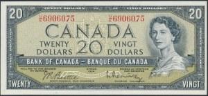 Kanada, 20 Dollars 1954