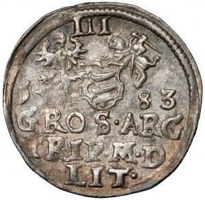 Stefan Batory, Trojak Wilno 1583