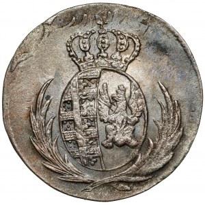 Księstwo Warszawskie, 5 groszy 1812 I.B. - duża data