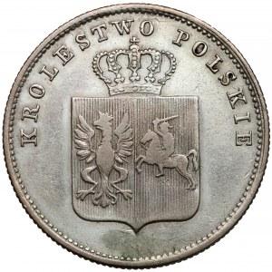 Powstanie Listopadowe, 2 złote 1831 - bez pochwy