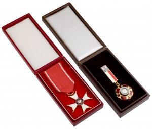 III RP, Order Odrodzenia Polski i medal Zasłużony dla Kultury Polskiej (2szt)