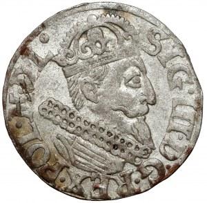 Zygmunt III Waza, Trojak Kraków 1622 - inny styl