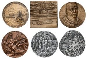 Zestaw medali - historia Polski (6szt)