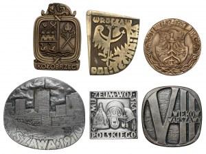 Zestaw medali (6szt)