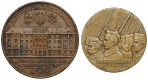 Medal Jenerał Józef Haller 1919 i Medal pamiątkowy August Hlond 1930 (2szt)
