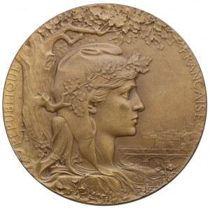 Medal dla Józefa MEHOFFERA z Wystawy Światowej Paryż 1900