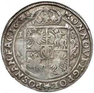 Jan II Kazimierz, Ort Poznań 1654 AT
