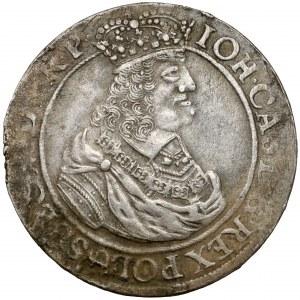 Jan II Kazimierz, Ort Gdańsk 1662 - ogony zawinięte