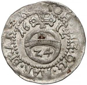 Brandenburg-Preussen, Groschen (1/24 taler) 1612 HL, Dreisen