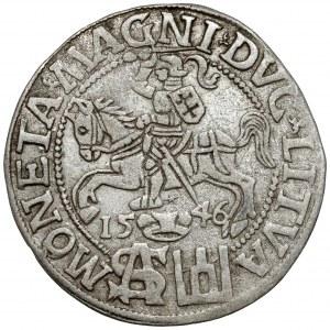 Zygmunt II August, Grosz na stopę polską 1546 - data pod Pogonią