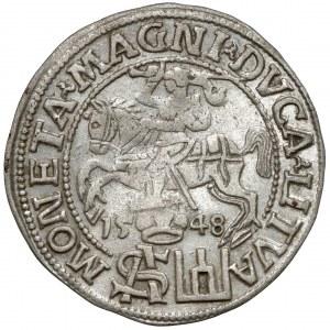 Zygmunt II August, Grosz na stopę polską 1548, Wilno