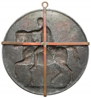 Medalion, Józef Poniatowski - pomnik - XIX wiek