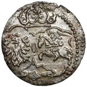 Zygmunt III Waza, Denar Łobżenica 1623 - piękny