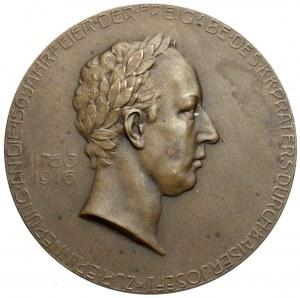 Austria, Medal - Stowarzyszenie Pamięci Cesarza Józefa II w Wiedniu 1916