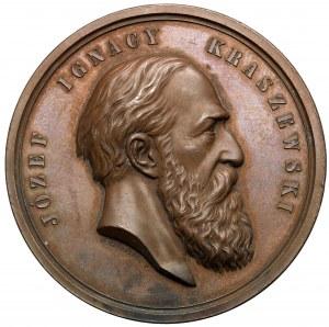 Medal, Józef Ignacy Kraszewski 1879