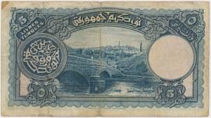 Turkey, 5 Livres (1926)