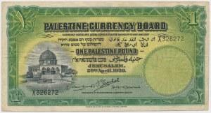 Palestine, 1 Pound 1939