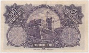 Palestine, 500 Mils 1939