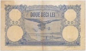 Romania, 20 Lei 1924