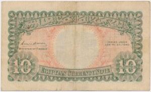 Egypt, 10 Piastres 1940