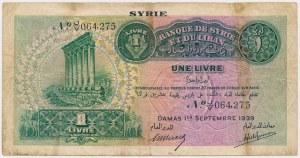 Syria, 1 Livre 1939