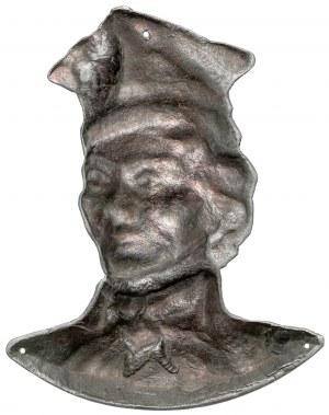 Plakieta, Kościuszko - popiersie - XIX wiek