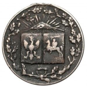 Medalik na pamiątkę jubileuszu J. J. Kraszewskiego 1879