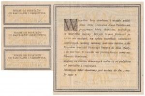 Bilet Skarbowy, 1.000 mkp 1920 - Serja I AH