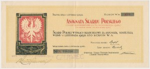 Asygnata Skarbu Polskiego, 100 koron 1918 - ex. Lucow - piękna