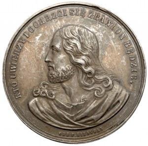 Medal Na Pamiątkę Chrztu - rzadki typ - piękny