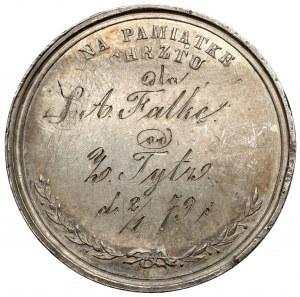 Medal Na Pamiątkę Chrztu 1879, J. Herkner F.