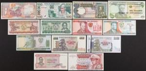 Africa, set of banknotes (13pcs)
