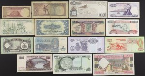 Africa and Near East - banknotes lot 15 pcs