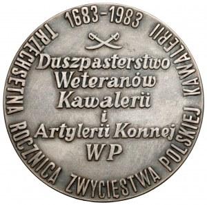 Medal SREBRO 300 Rocznica Zwycięstwa Polskiej Kawalerii 1683-1983