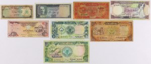 Near East - lot of 10 banknotes