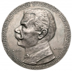 Medal SREBRO Franciszek Nowodworski 1924 - rzadki