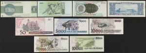 Brazil - banknotes lot (9pcs)