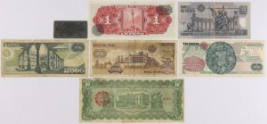 Mexico - banknotes lot (7pcs)