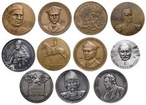 Zestaw medali (11szt)