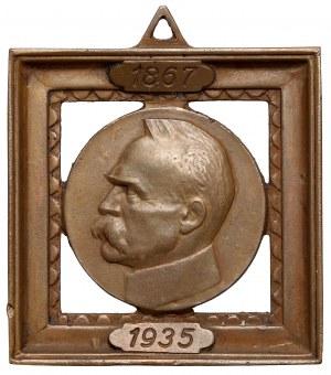 Plakieta Józef Piłsudski 1867-1935