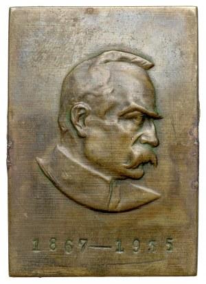 Plakieta, Józef Piłsudski 1867-1935