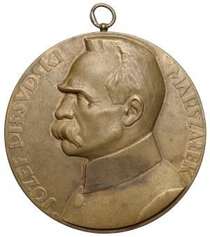 Medal, Józef Piłsudski, 10 rocznica Wojny Polsko-Bolszewickiej 1930