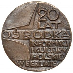 PRL, Medal - 20 lat Ośrodka Informacji i Kultury Polskiej w Berlinie