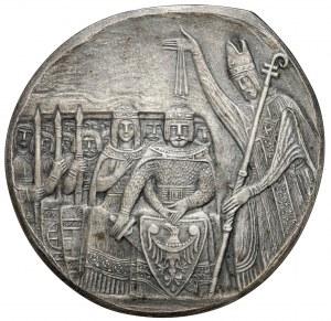 Medal SREBRO Tysiąclecie Chrztu Polski 966-1966
