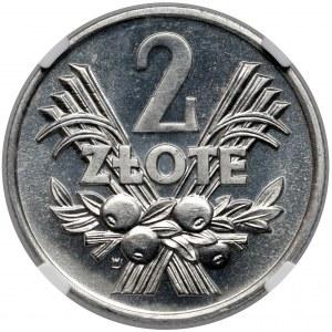 2 złote 1970 - PROOF LIKE - jak lustrzanka