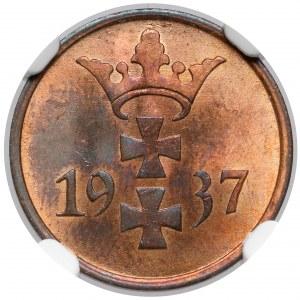 Gdańsk, 1 fenig 1937