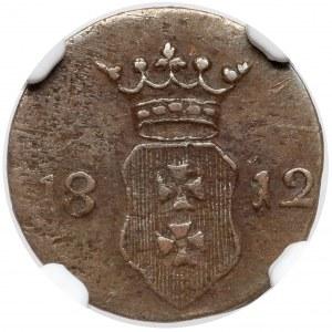 Wolne Miasto Gdańsk, Szeląg 1812-M