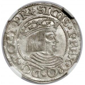 Zygmunt I Stary, Grosz Gdańsk 1535 - wczesny